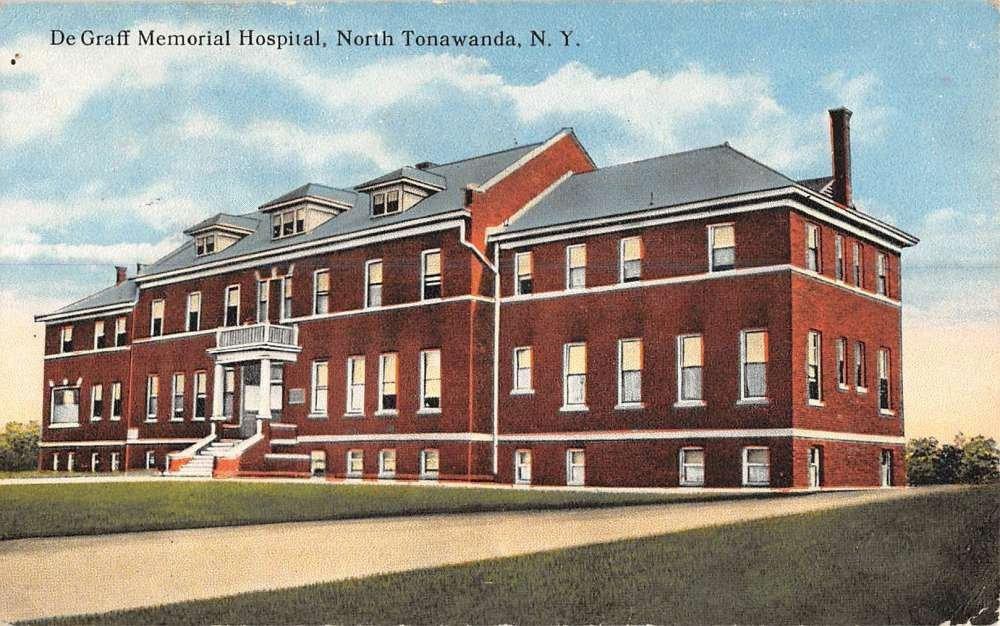 DeGraff Memorial Hospital, postcard (c1940).jpg