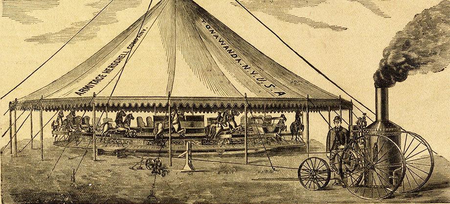 Armitage-Herschell-Steam-Riding-Gallery,-ad,-detail-(1894).jpg