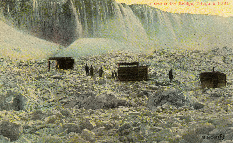 Famous ice bridge, Niagara Falls, postcard (c1915).jpg