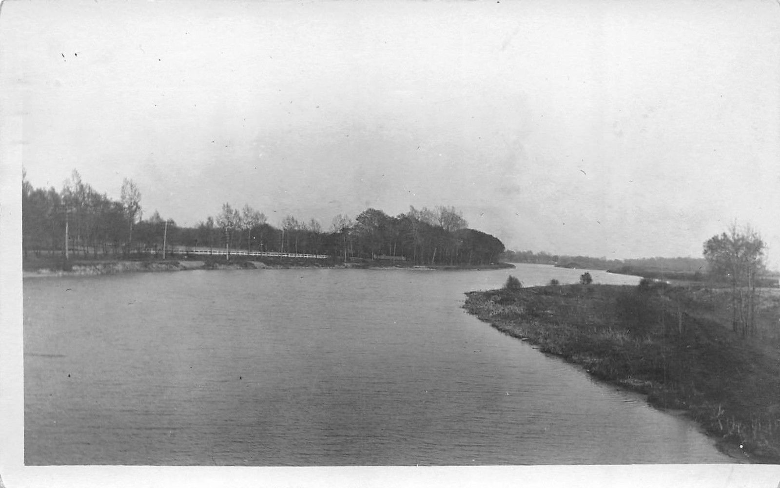 Erie Canal looking South, Martinsville, Buschs Bridge, photo (1914).jpg