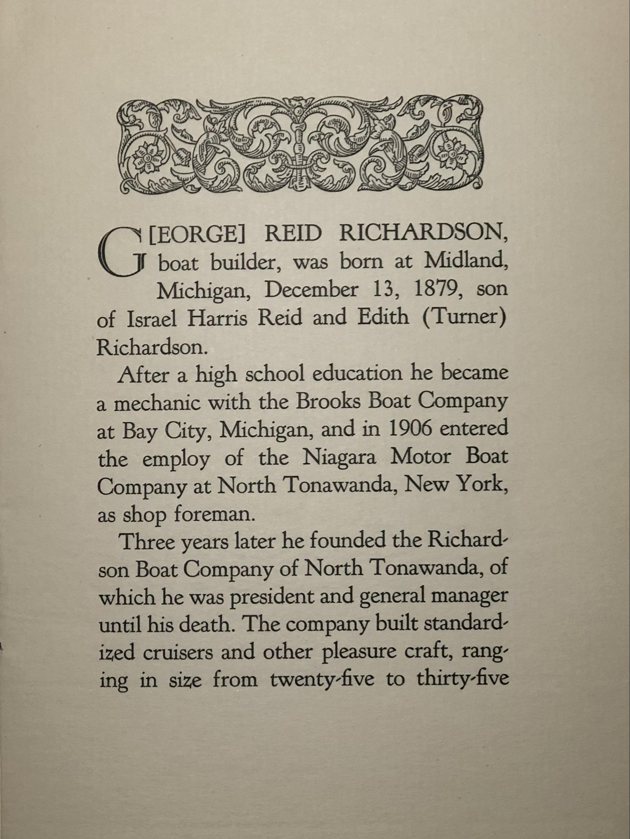G Reid Richardson, biographical pamphlet 2.jpg