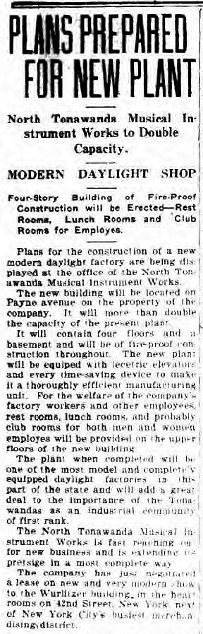 Plans Prepared for New PLant, NTMIW to Double Capacity, article (Tonawanda News, 1920-01-08).jpg