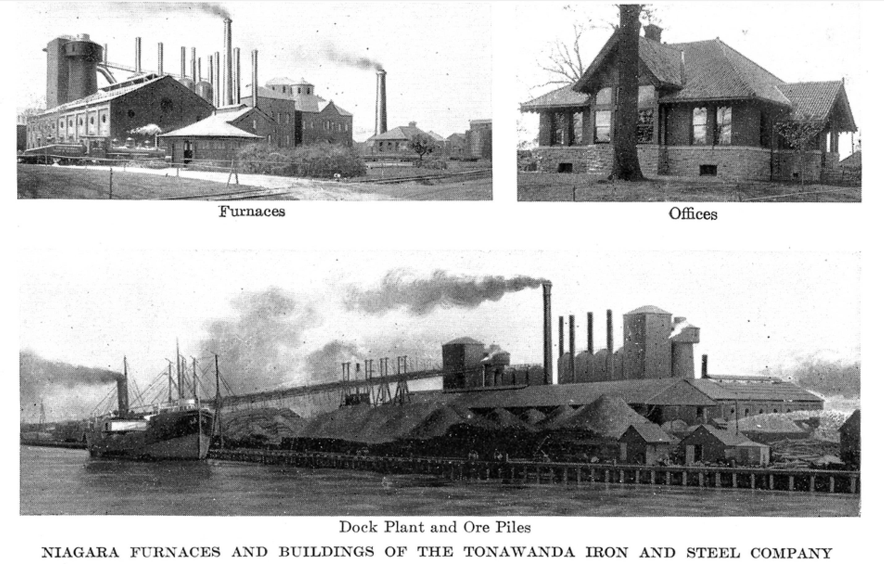 Tonawanda Iron and Steel, photos (Greater Buffalo NY Undustrial Commercial, 1914).jpg