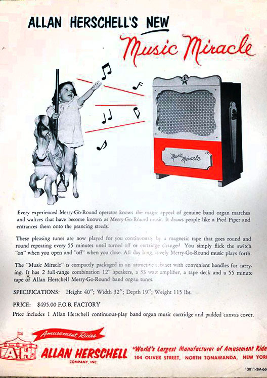 Allan Herschell's new Music Miracle, ad (c1950).jpg