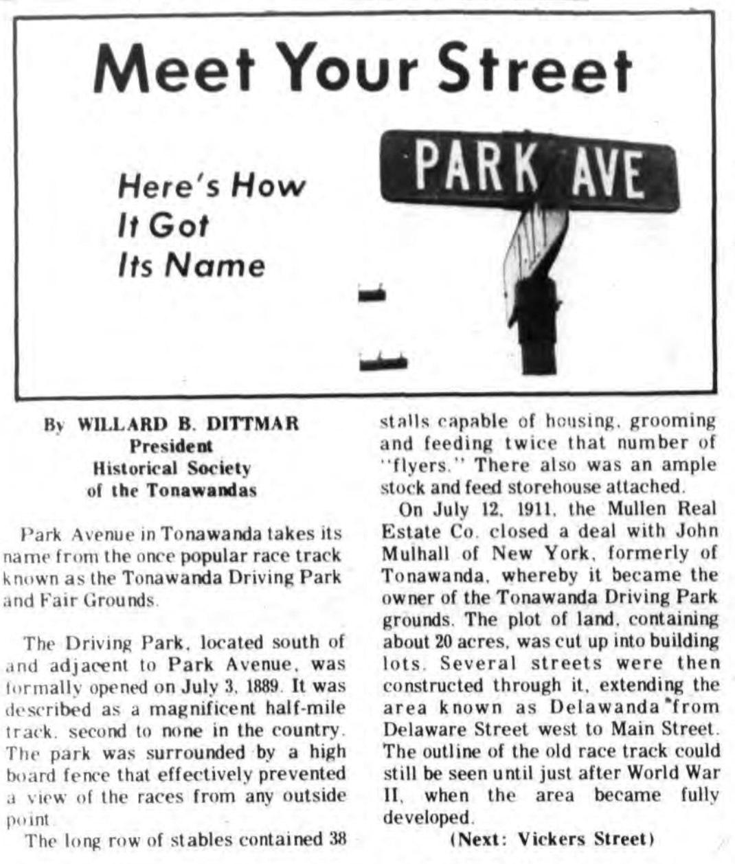 Meet Your Street - Park Ave in Tonawanda (Tonawanada News, 1970-11-23).jpg
