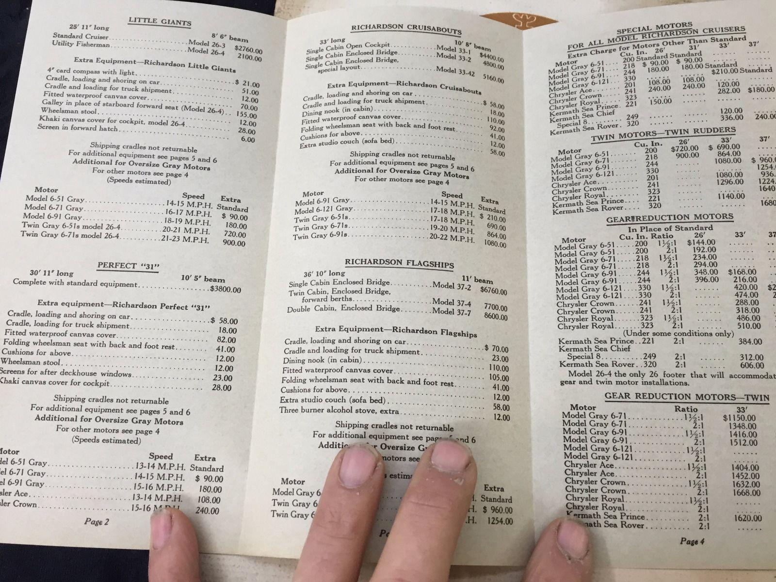 Richardson Cabin Cruisers, catalog and price sheet 12 (1941).jpg