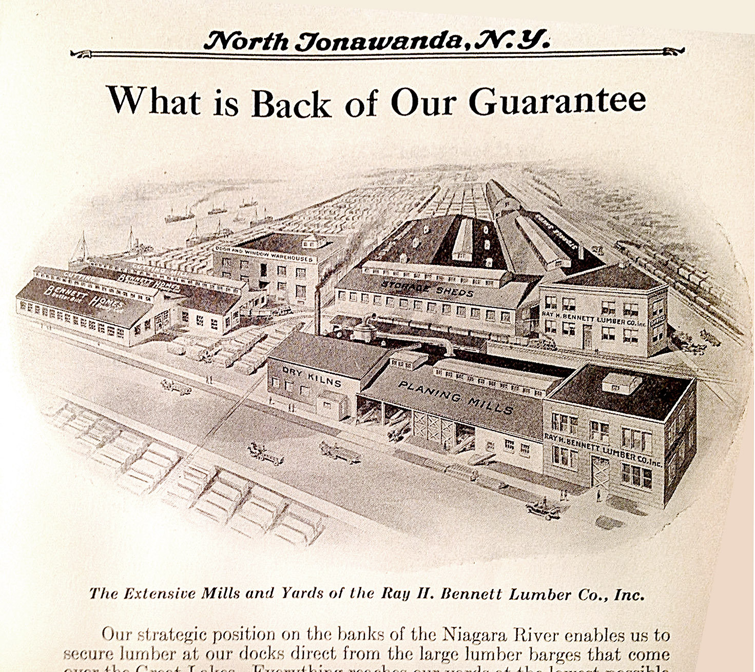 Bennett Lumber Company grounds, illustration (1926).jpg