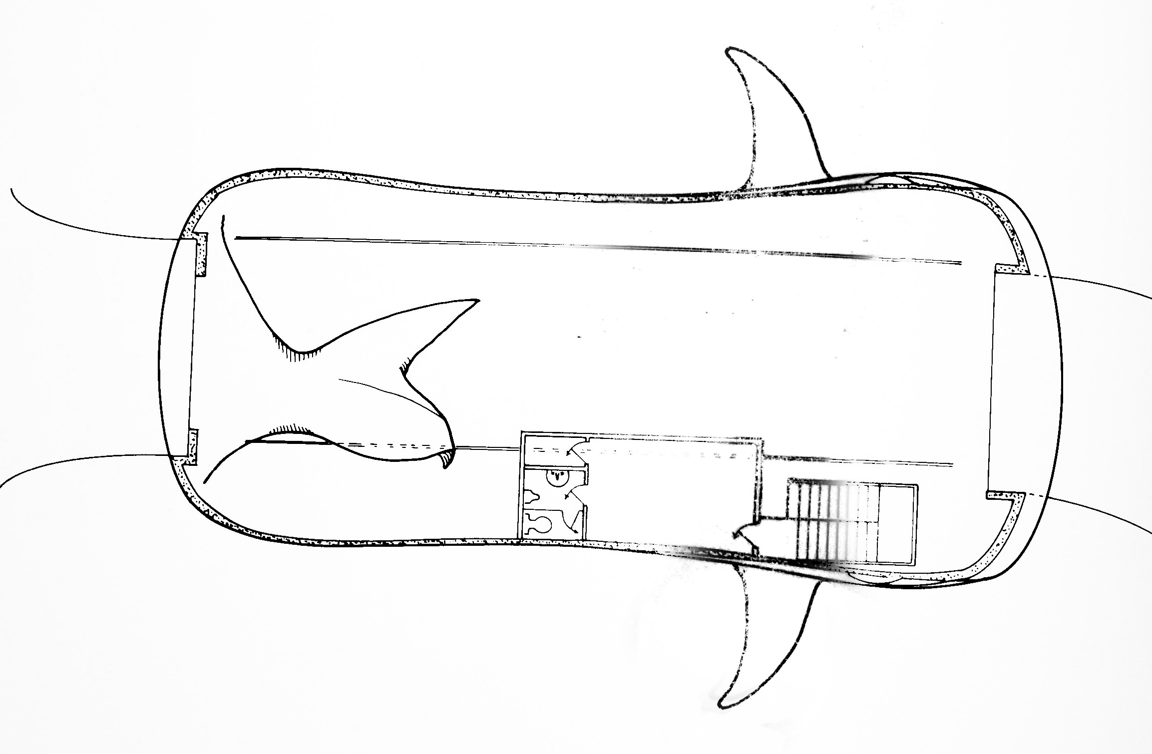 Blue Whale Car Wash, schematic drawing (1983).jpg