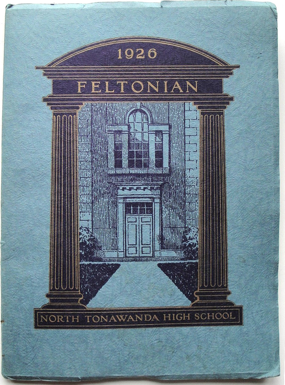 Feltonian yearbook, cover (1926).jpg