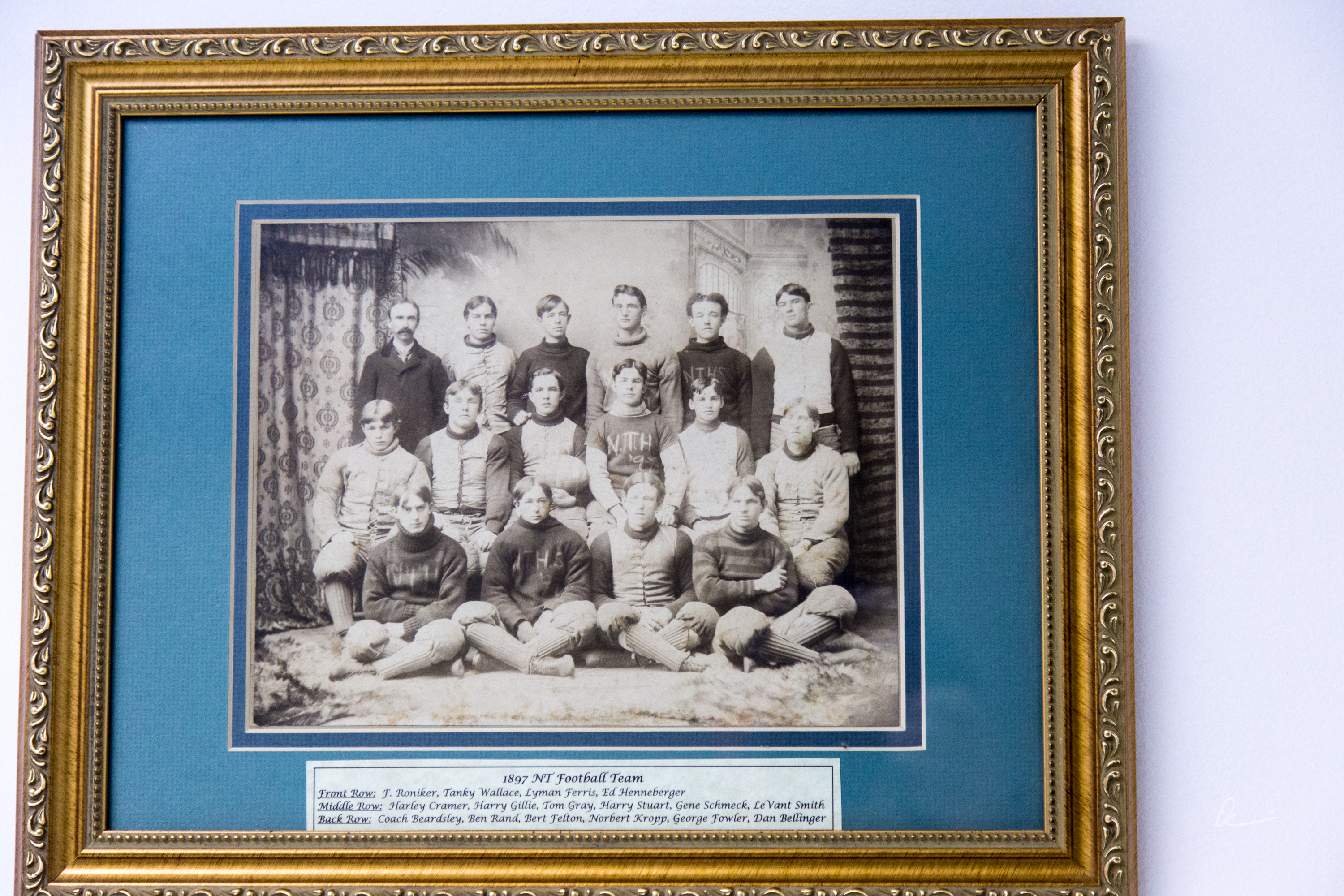 1897 NT Football Team photo, North Tonawanda Football Hall of Fame (2017).jpg