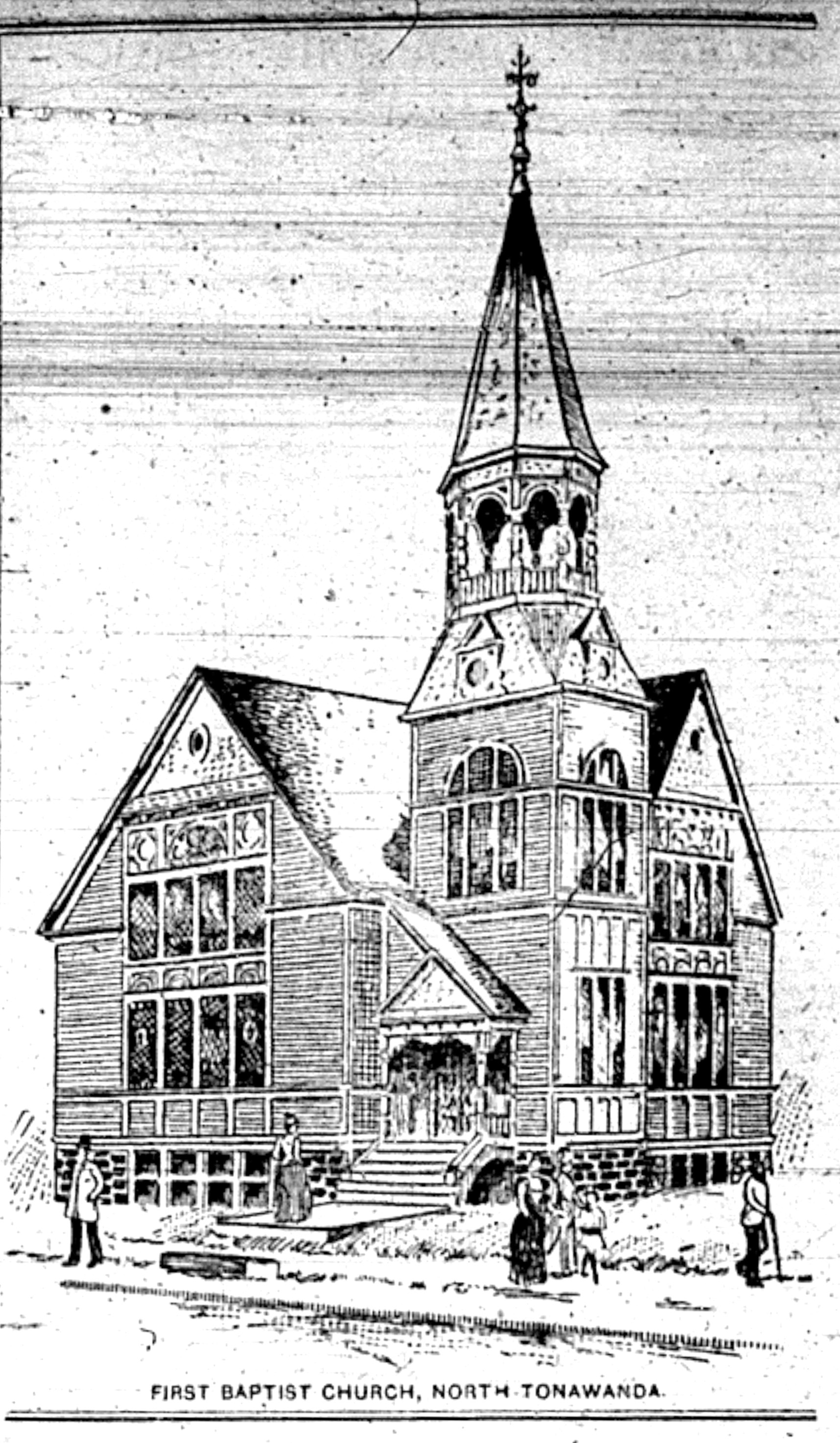 First Baptist Church, illustration (1893-08-05 Tonawanda News).jpg