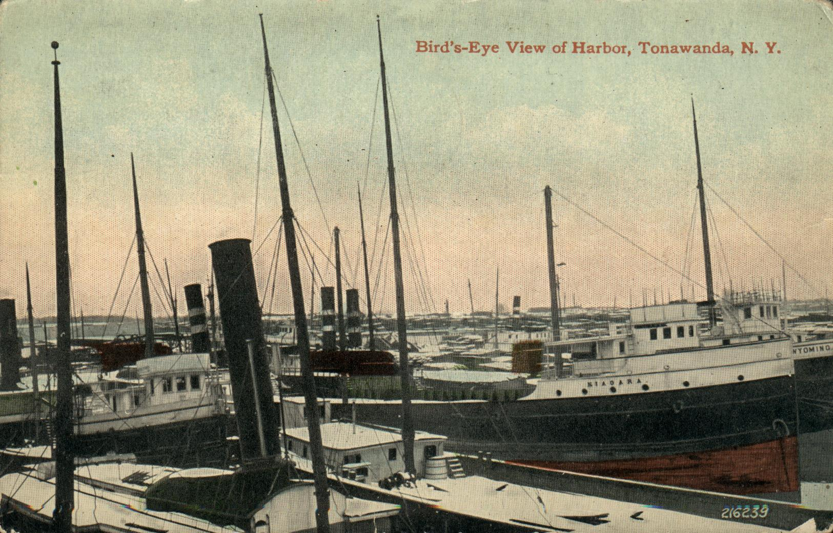 Bird's-Eye View of Harbor, postcard (c1910).jpg