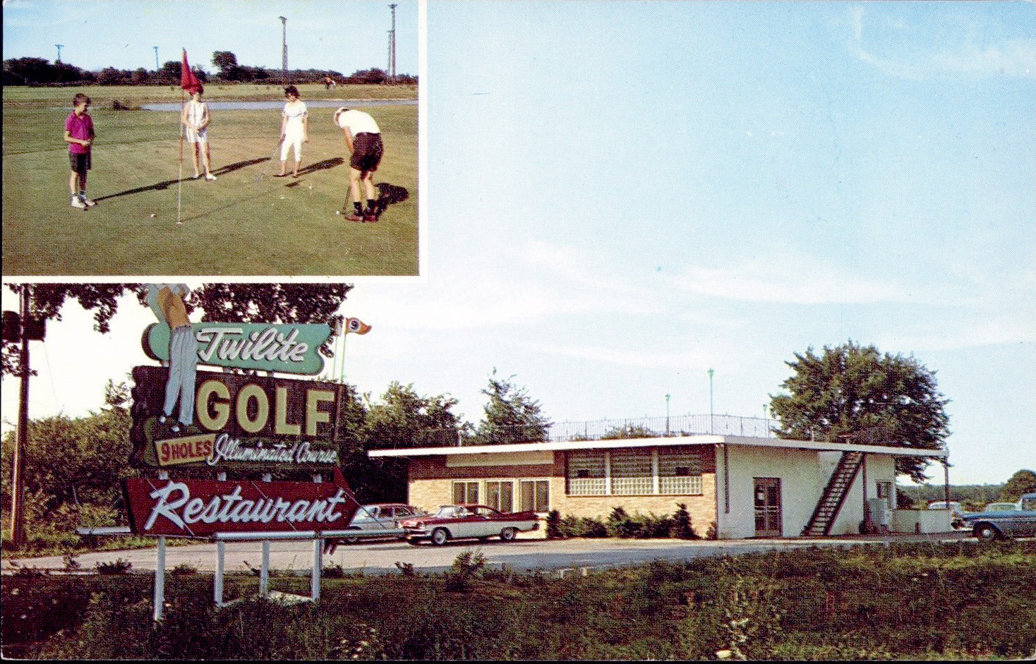 Twilite Golf Course, 3287 Niag Falls Blvd, postcard (c1960).jpg