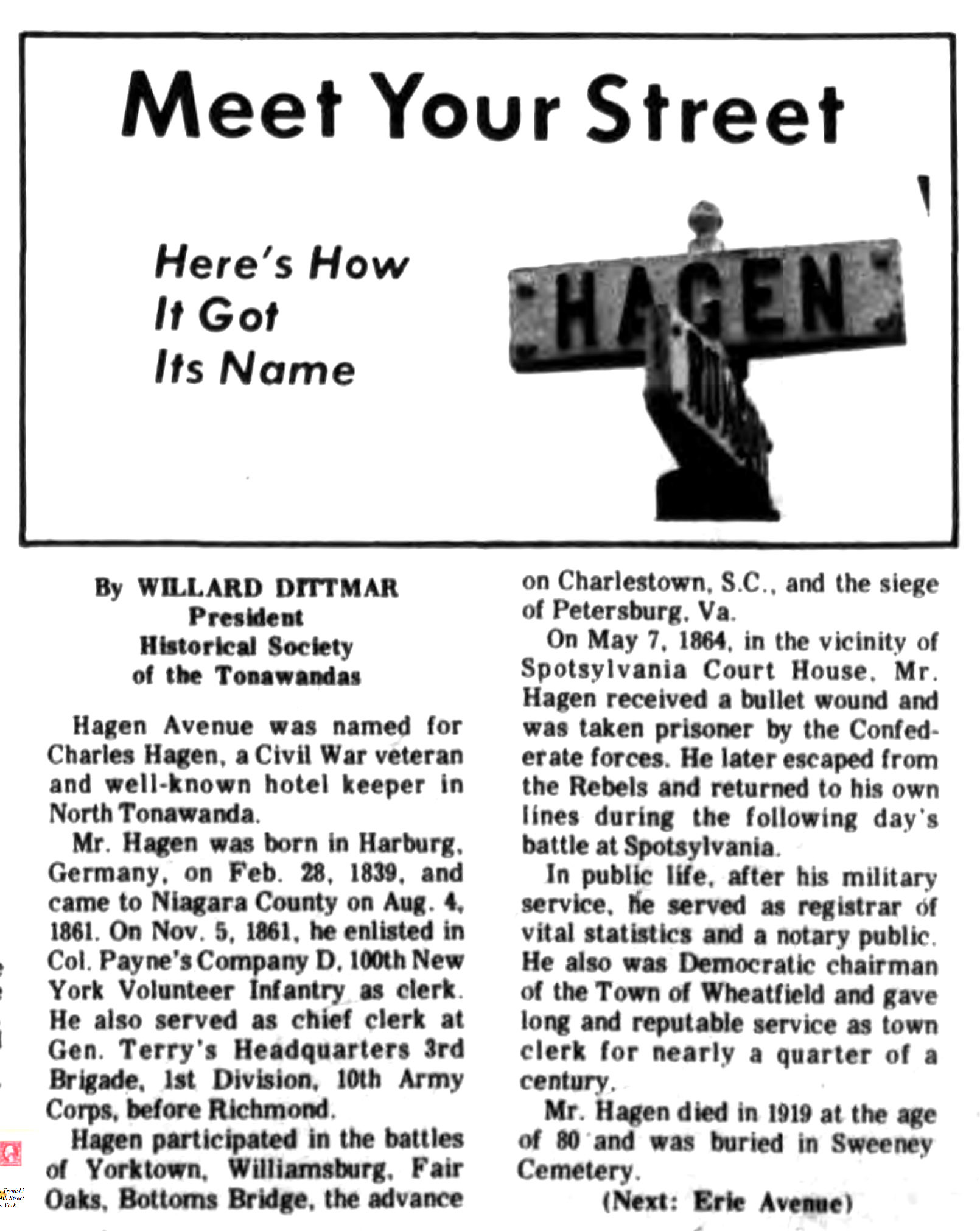 Meet Your Street - Hagen Avenue (Tonawanada News, 1970-08-22).jpg