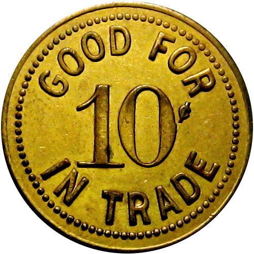 Ernie Green, 155 Wheatfield, North Tonawanda, token 2.jpg