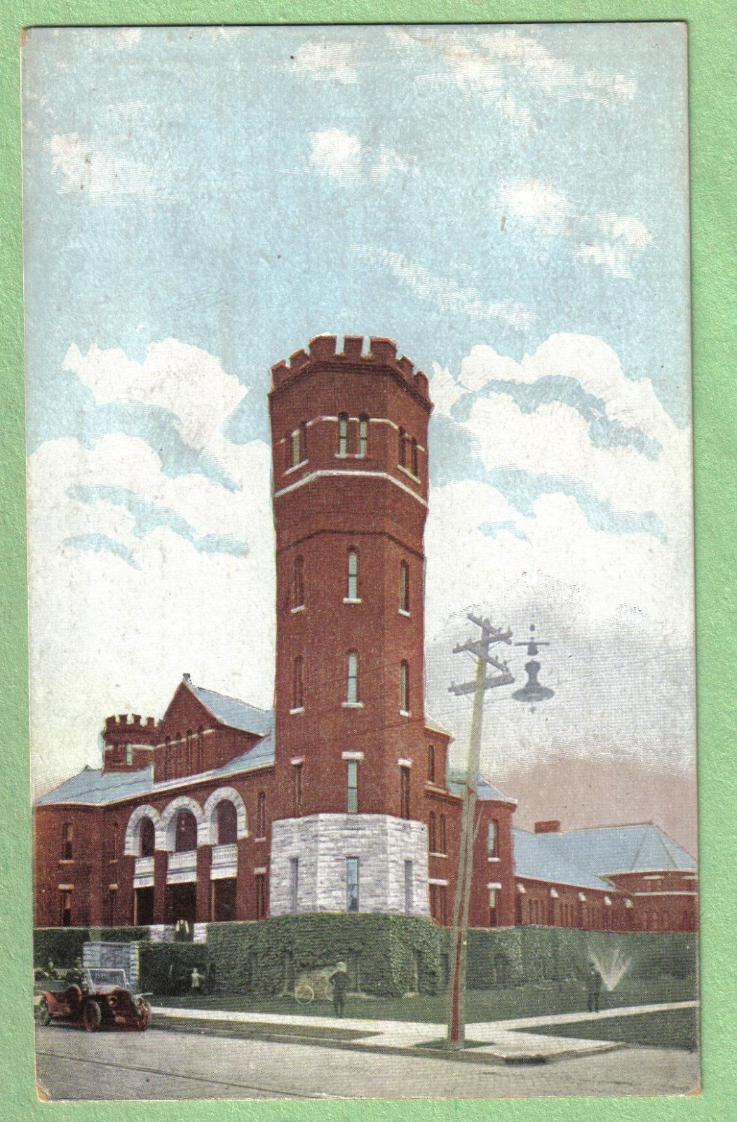 25th Seperate Co Armory, Tonawanda, postcard.jpg