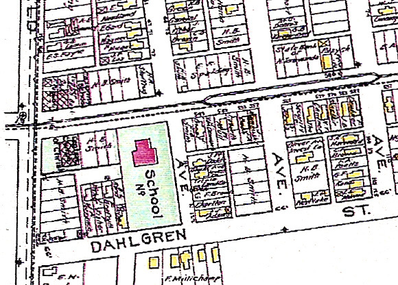Ironton School on 1908 map.jpg