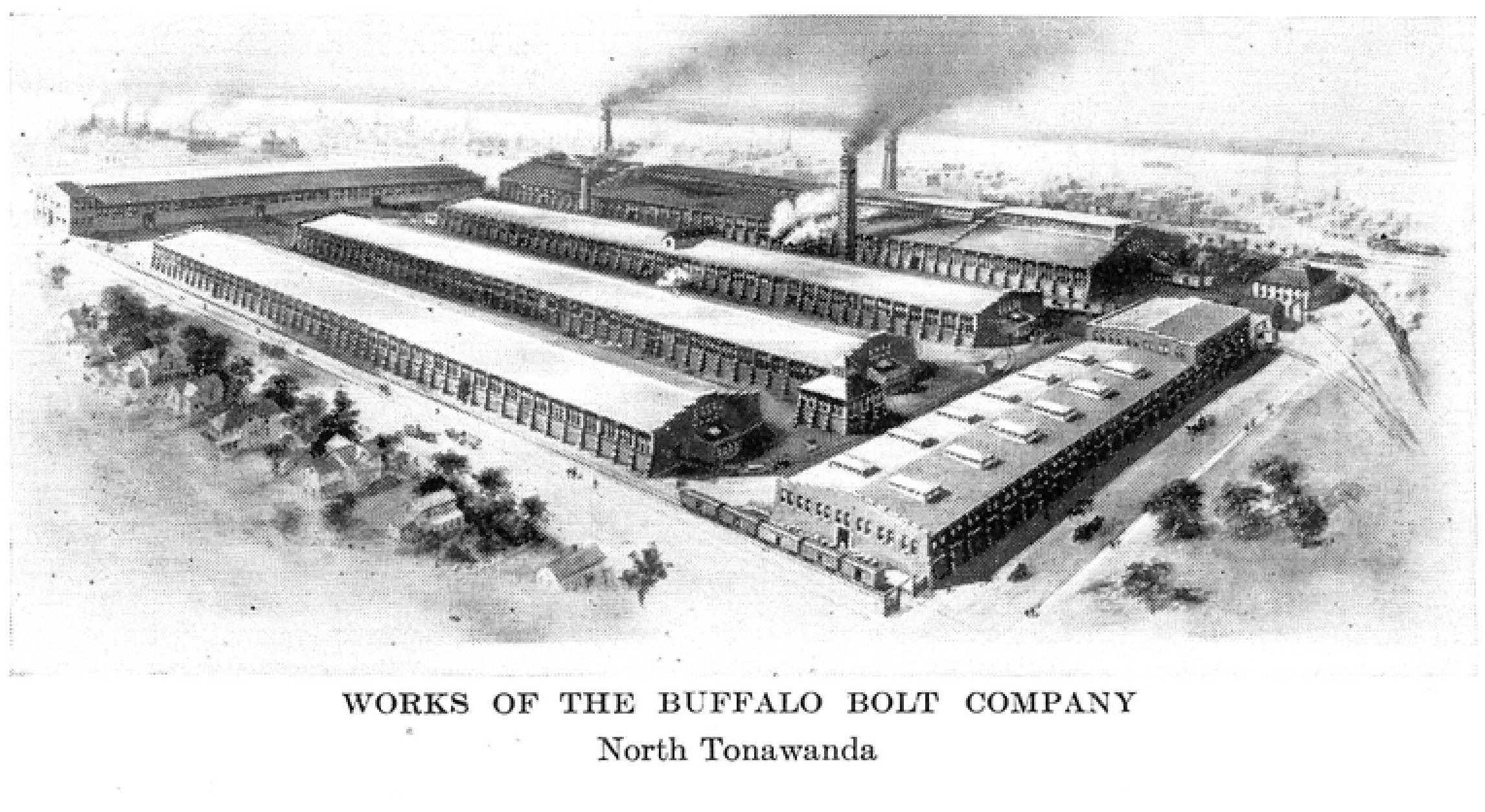 Works of the Buffalo Bolt Plant, illustration (Greater Buffalo NY Undustrial Commercial, 1914).jpg