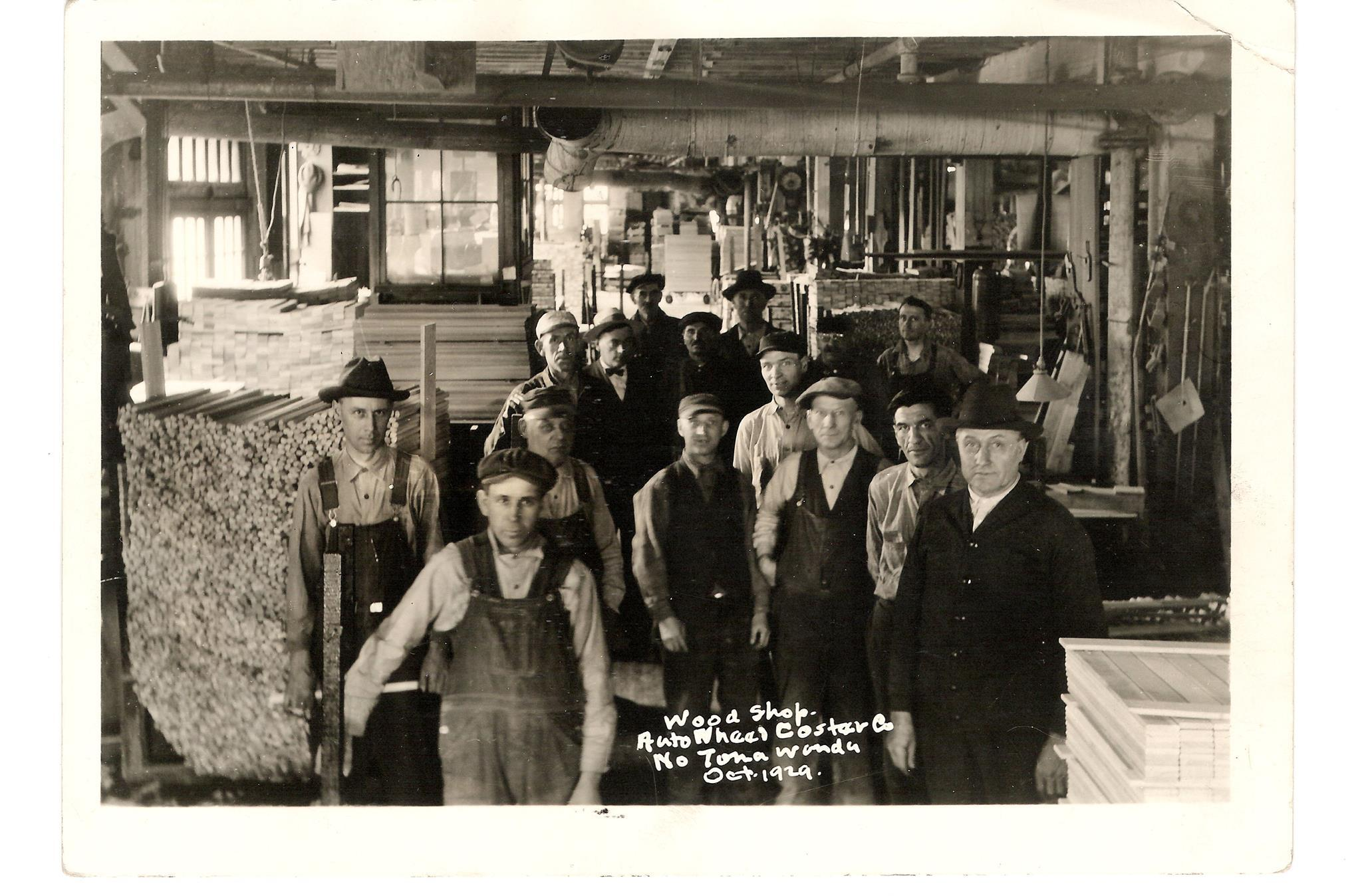 Auto Wheel Co., wood shop, photo (NTHM, 1929-10).jpg