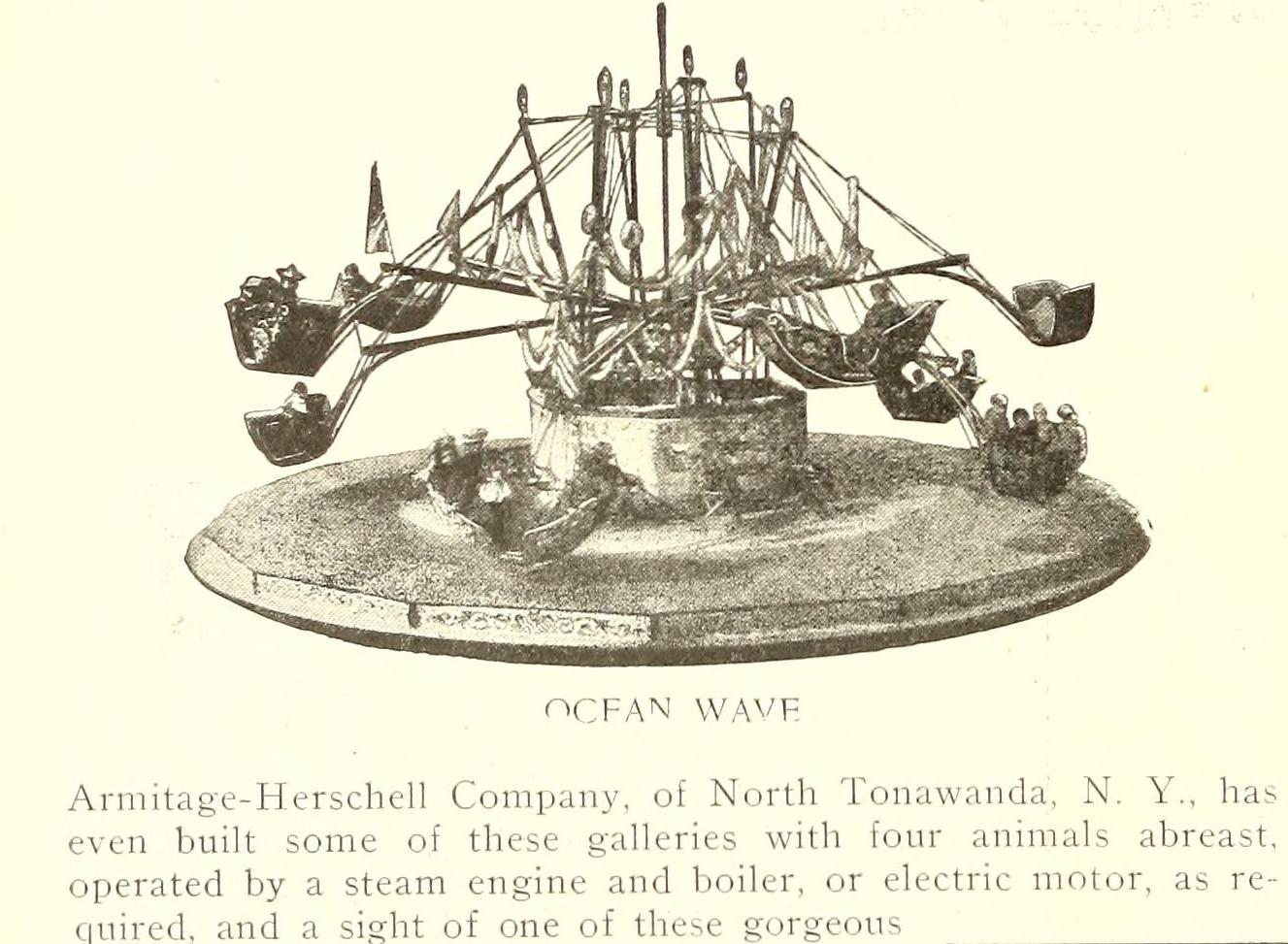 Armitage-Herschell Ocean Wave, photo ad (Street Railway Journal, 1902 PD).png