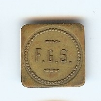 Felton Grade School North Tonawanda NY Lunch Milk Token.jpg