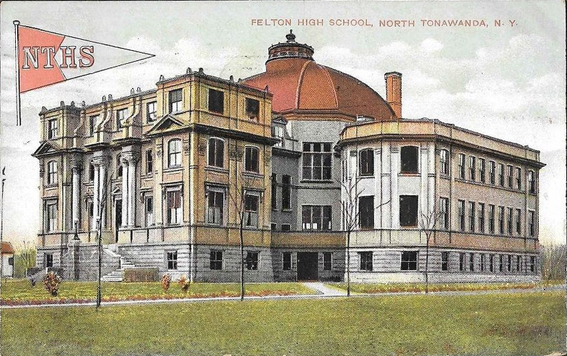 Felton High School, postcard (1909).jpg