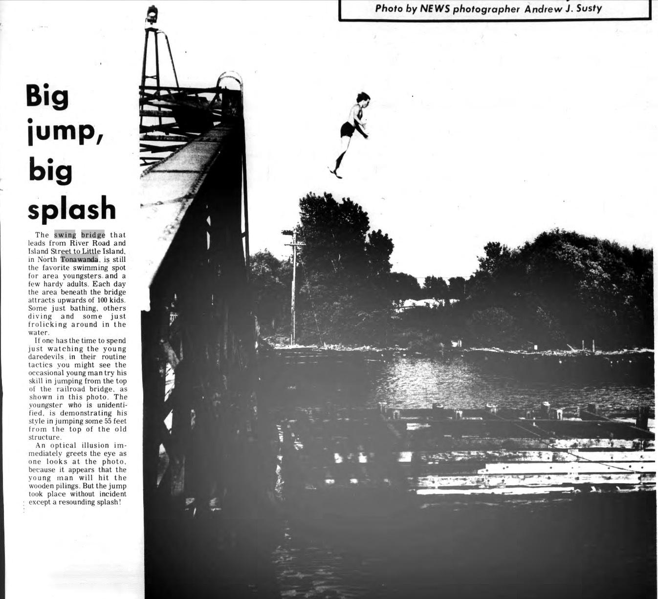 Big Jump, Big Splash, photo (Tonawanda News,1971-06-24).jpg