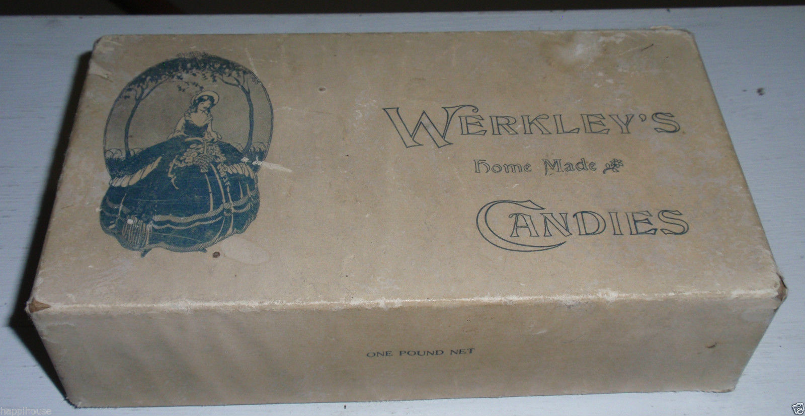 Werkley's Home Made Candies, 115 Goundry, illustrated box (c1940).jpg