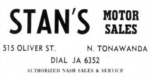 Stans Motor Sales, logotype, ad (Tonawanda News, 1956-04-13).jpg