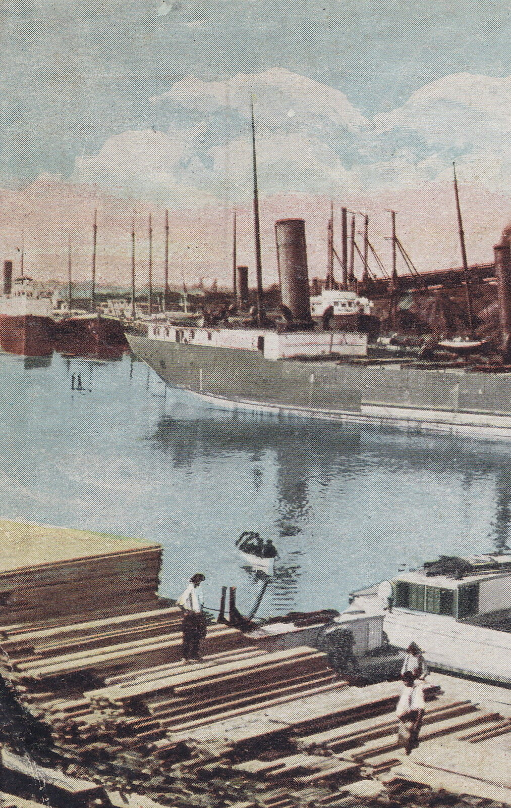 Tonawanda Iron and Steel, SS Jupiter, postcard detail3 (c1910).jpg