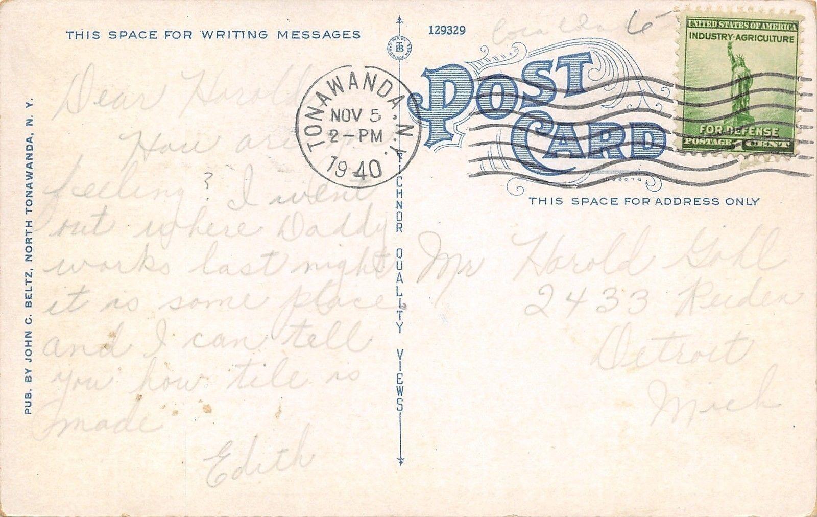 Webster Street, Rivera, postcard back (1940-11-05).jpg