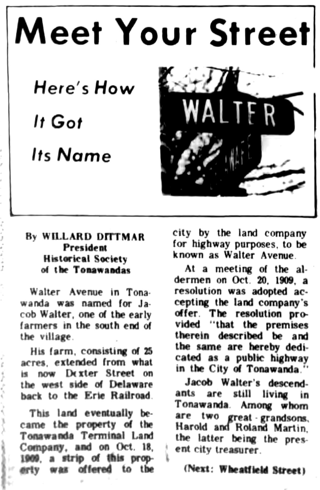 Meet Your Street - Walter Avenue in Tonawanda (Tonawanada News, 1969-11-15).jpg