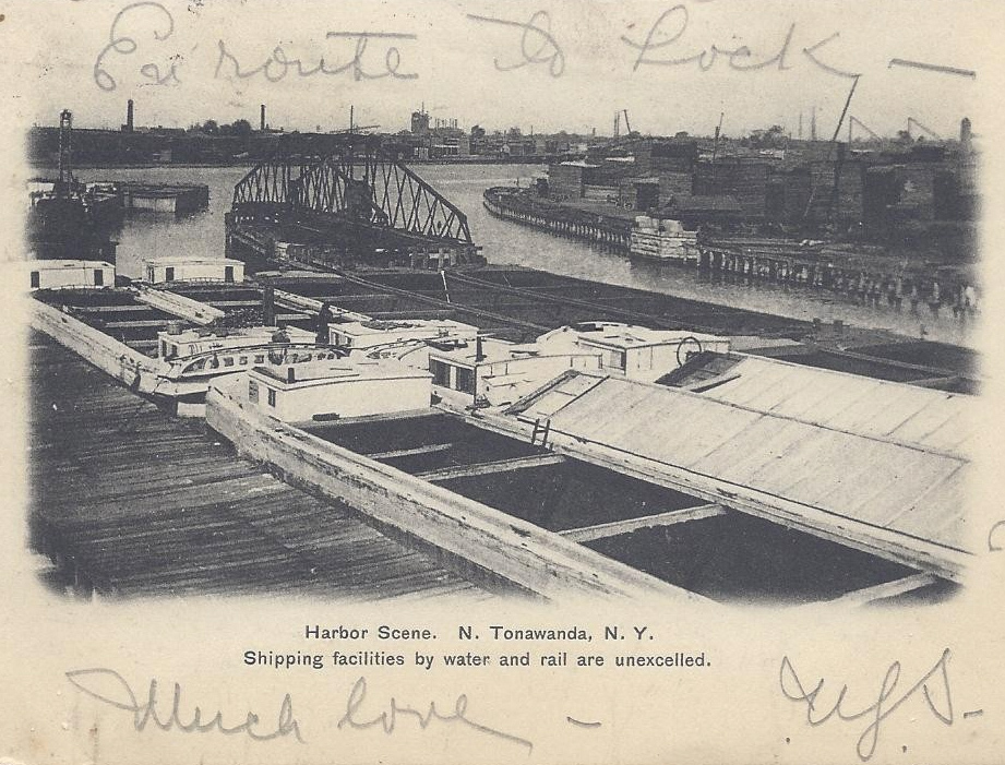 Harbor Scene, postcard (1906).jpg