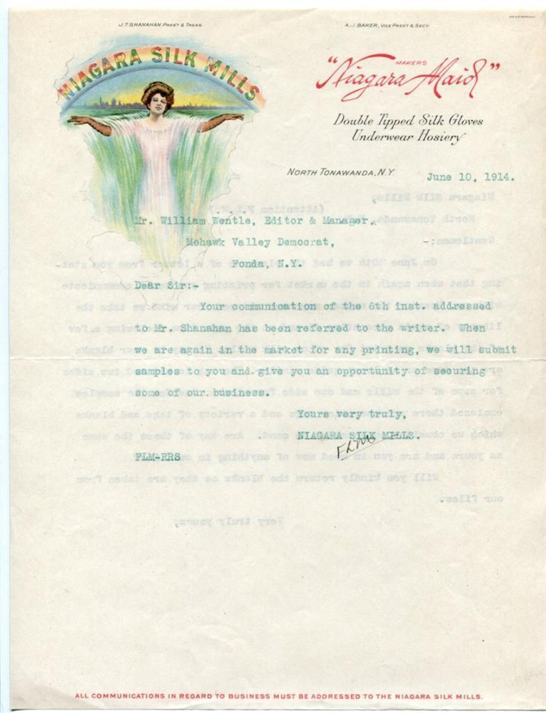 Niagara Silk Mills, illustrated letter (1914-06-10).jpg