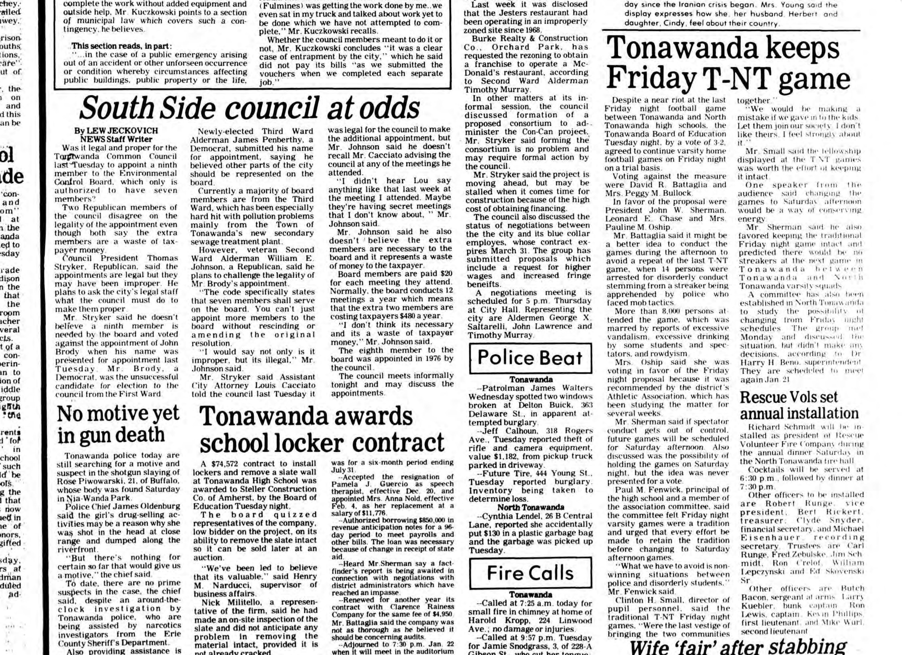 Tonawanda keeps Friday T-NT game, article (Tonawanda News, 1980-01-09).jpg