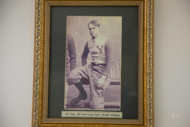 Frank Hinkey photo, North Tonawanda Football Hall of Fame (2017).jpg