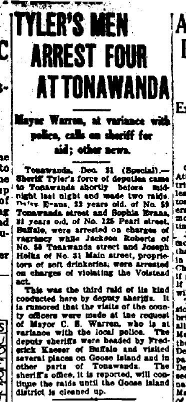 1924-12-21 Tylers Men Arrest Four at Tonawanda (Buffalo Courier).jpg