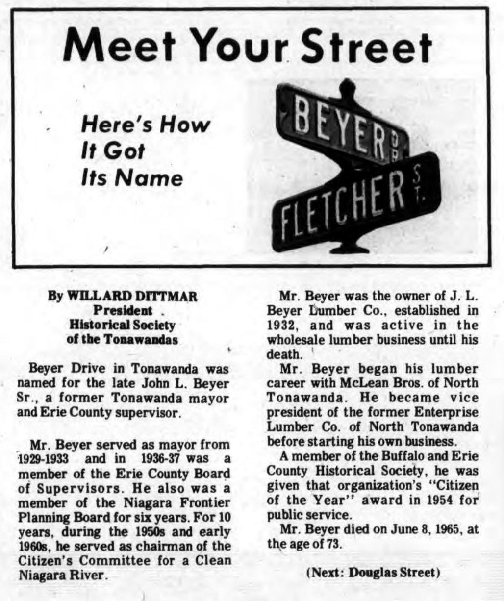 Meet Your Street - Beyer Drive in Tonawanda (Tonawanada News, 1970-09-26).jpg