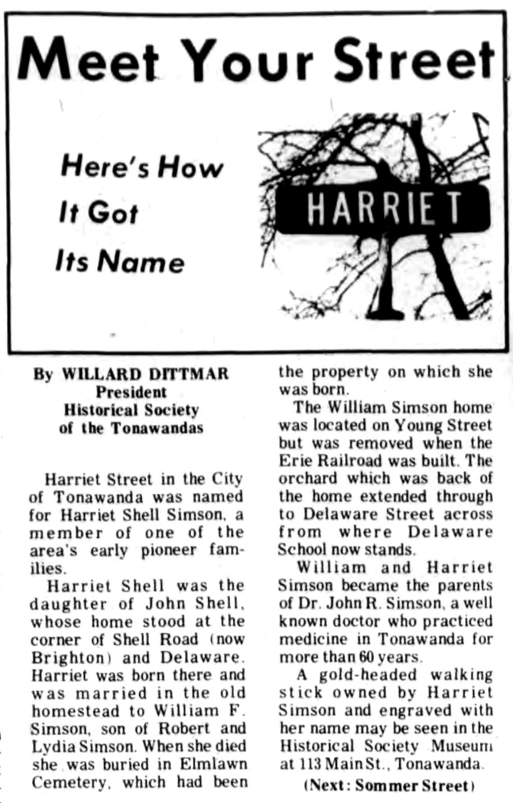Meet Your Street - Harriet Street in Tonawanda (Tonawanada News, 1970-01-24).jpg