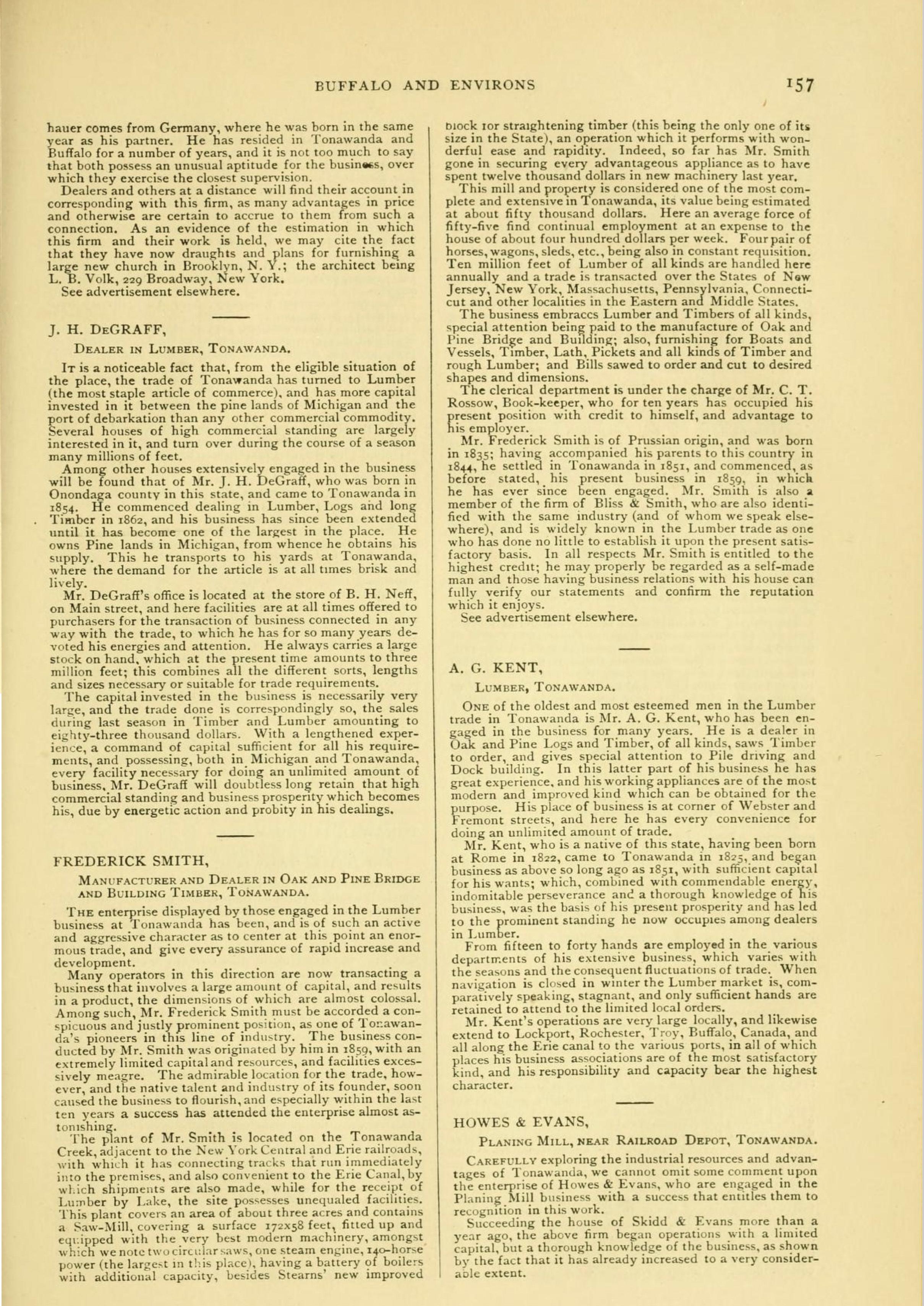Tonawanda, book excerpt (Commerce, 1880) p157.jpg