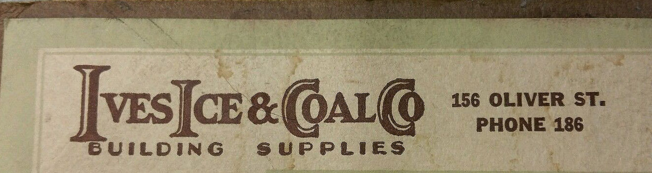 Ives Ice and Coal, 156 Oliver, logotype (1936).jpg