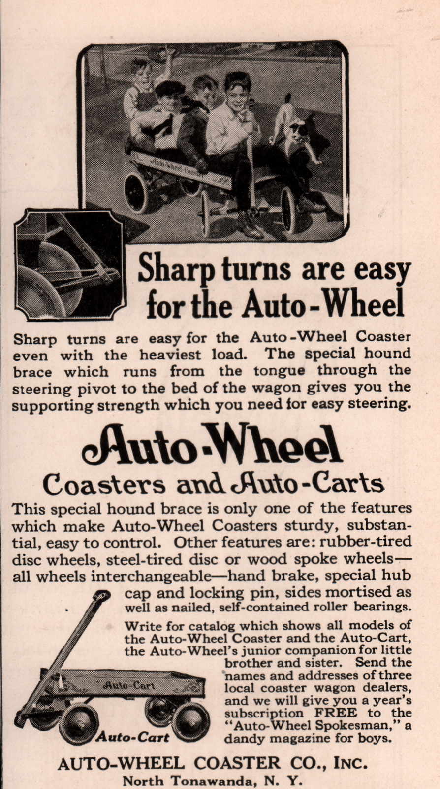 Buffalo Sled Co - Auto Wheel Coaster, ad.jpg