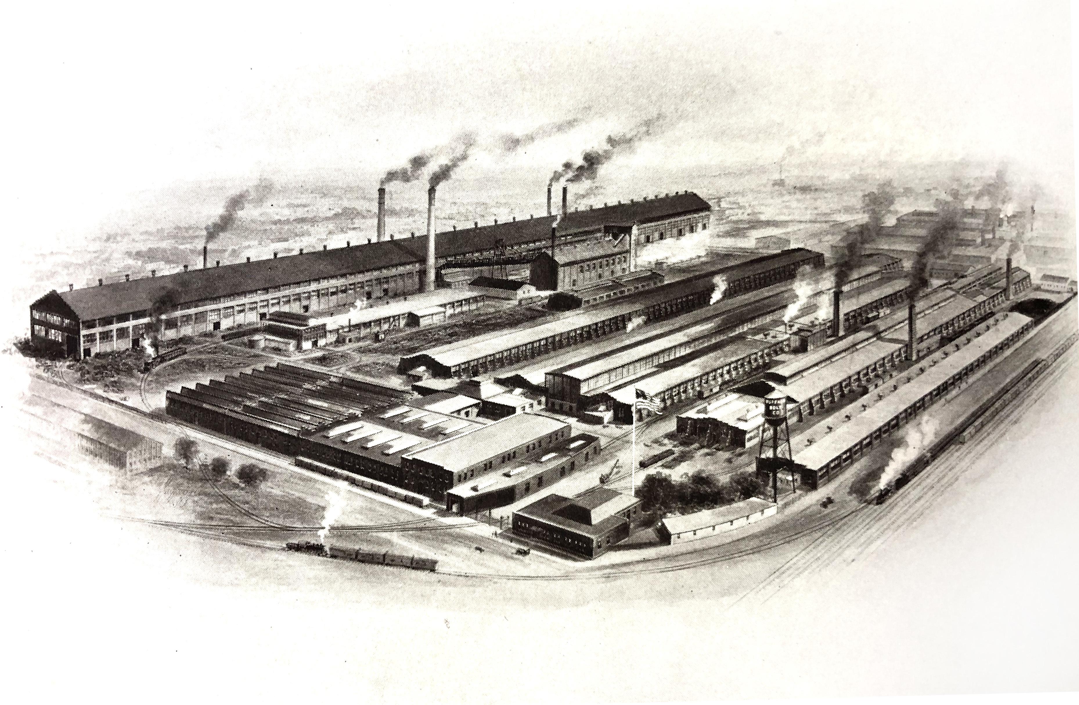 Buffalo Bolt Company, illustration (A Graphic Story 1920).jpg