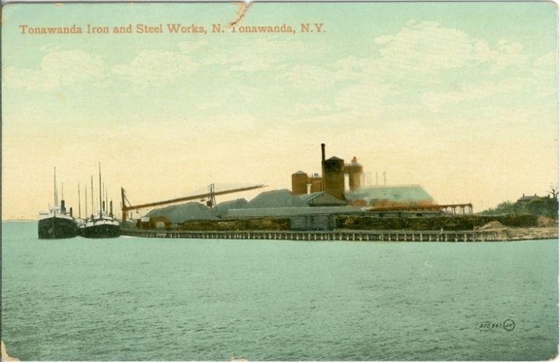 Tonawanda Iron and Steel Works, postcard (1916).jpg
