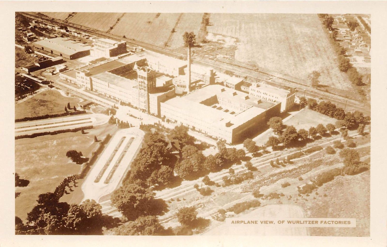 Airplane View of Wurlitzer Factories, postcard (c1925).jpg