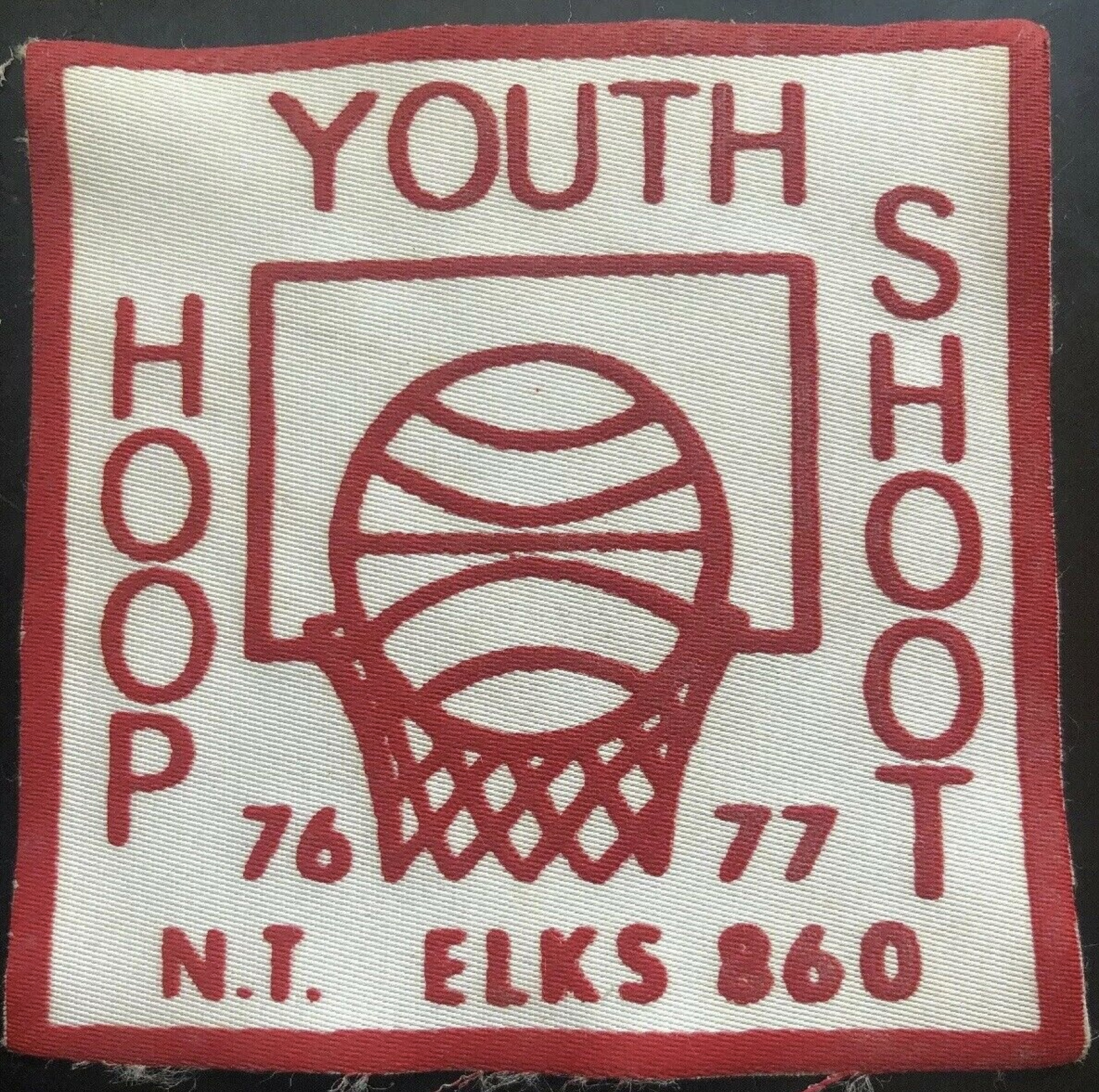 Youth Hoop Shoot, 76-77, NT Elks, patch (c.1977).jpg