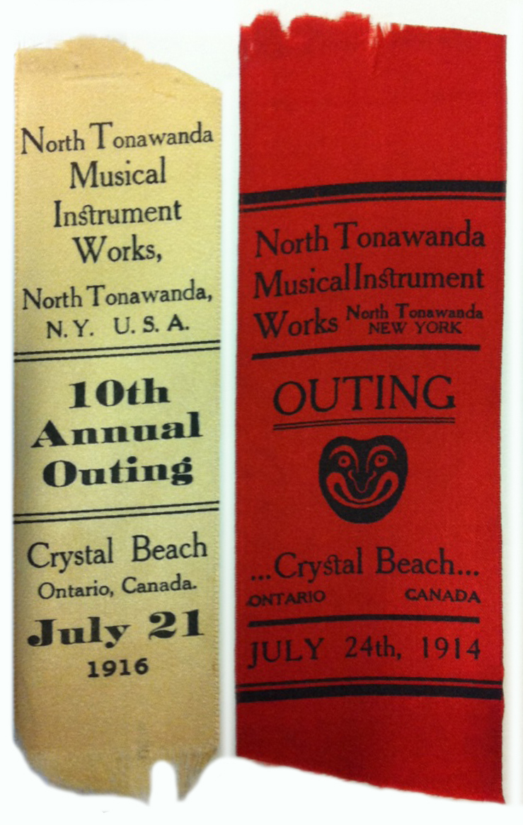 North Tonawanda Musical Instrument Works, annual outing ribbons (HST 1914-1916).jpg