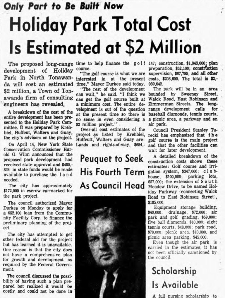 Holiday Park Total Cost is 2 Million, article (Ton News, 1965-06-11).jpg