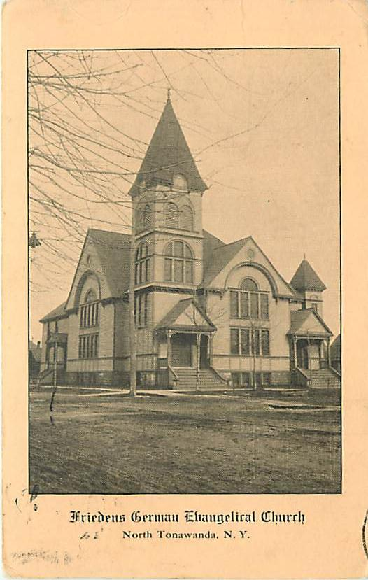 Friedens German Evangelical Church, postcard (1908).jpg
