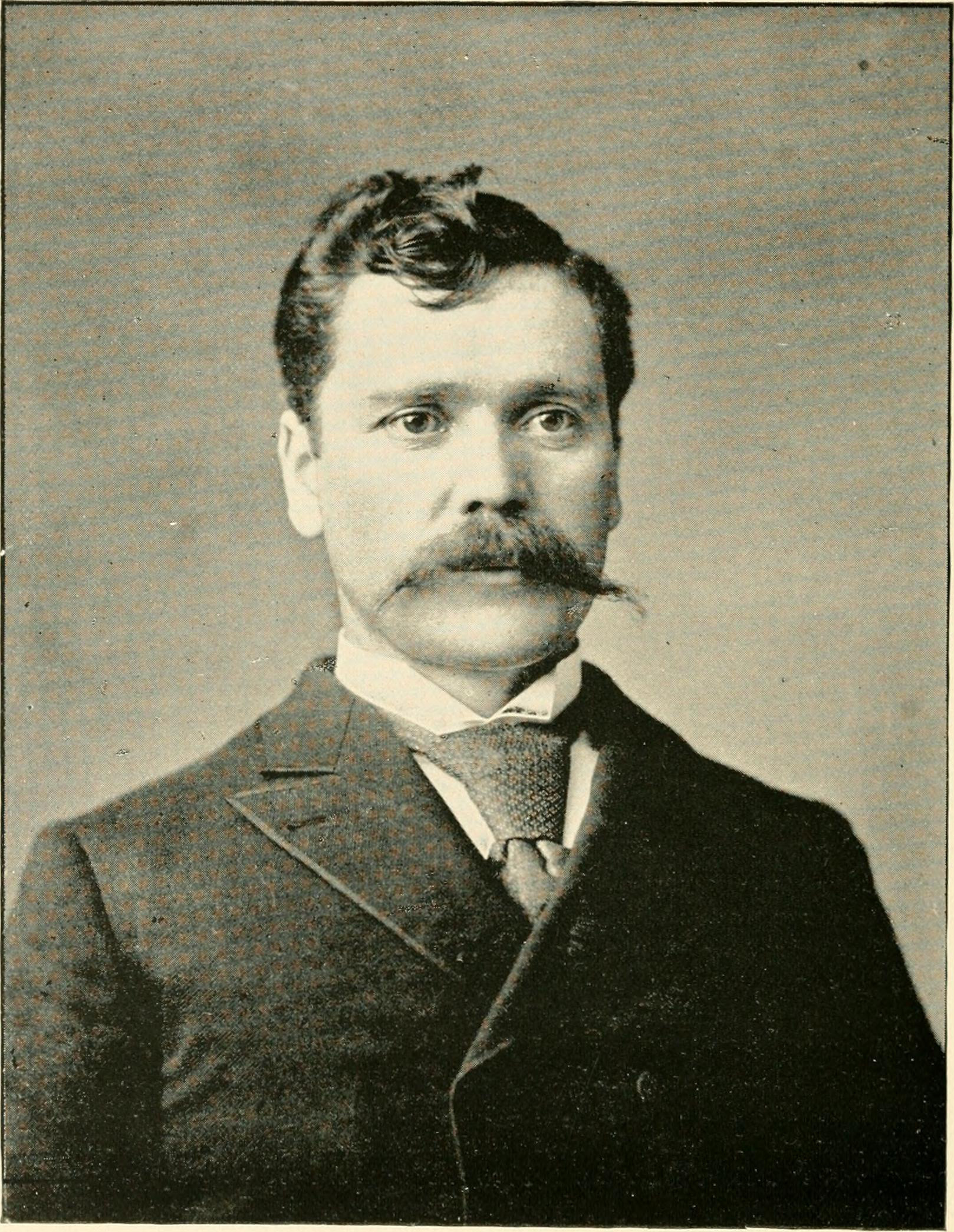 Alan Herschell, photo portrait (Landmarks of Niagara County, 1897 PD).jpg